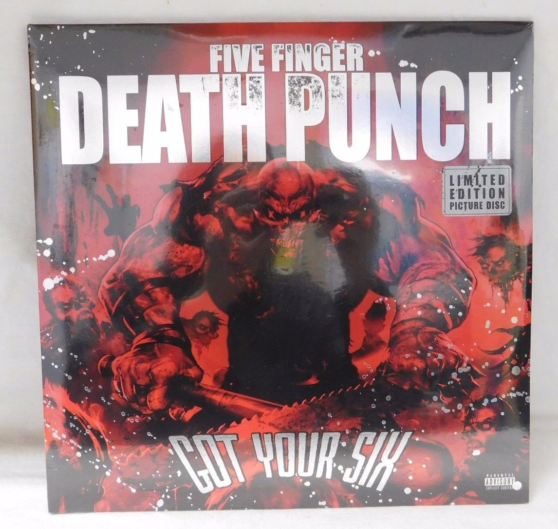 Sealed New Five Finger Death Punch Limited Edition