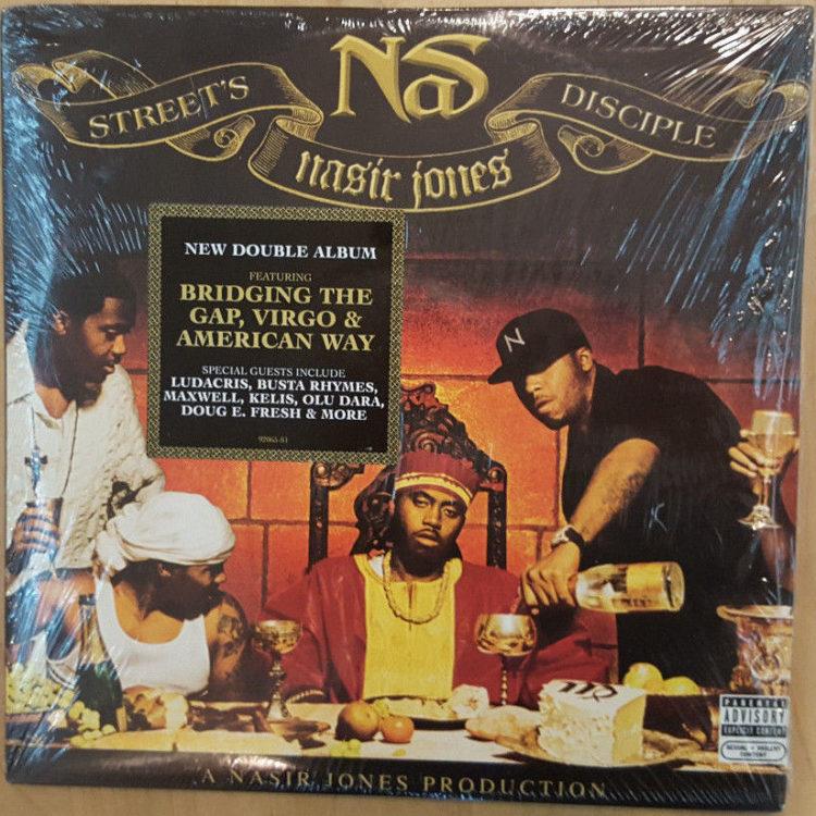 Sealed New- NAS (Nasir Jones) Street's Disciple Double Album (8 Sides)  Promo 2004 Columbia Records