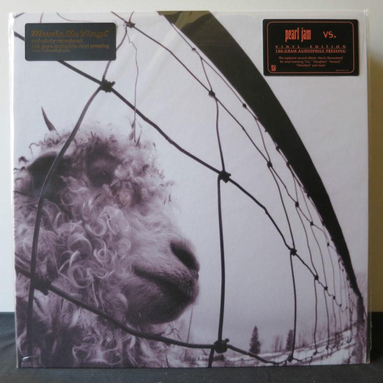 Sealed New 12 Lp Pearl Jam Vs Vinyl Edition 180 Gram