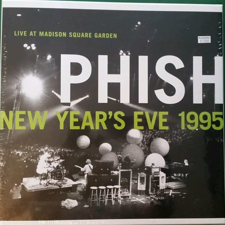 Sealed new phish live at madison square garden new year 39 s - Phish madison square garden tickets ...