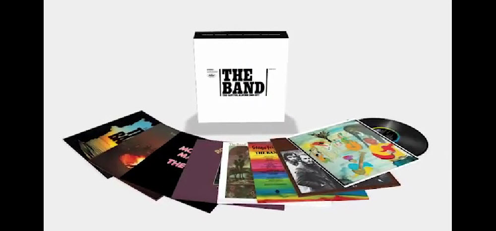 Sealed New- The Band The Capitol Albums 1968-1977 Boxed Set Of 8 Albums On  180 Gram Vinyl Promo Originally Released 1968-1977 (2015 Reissue) 2015