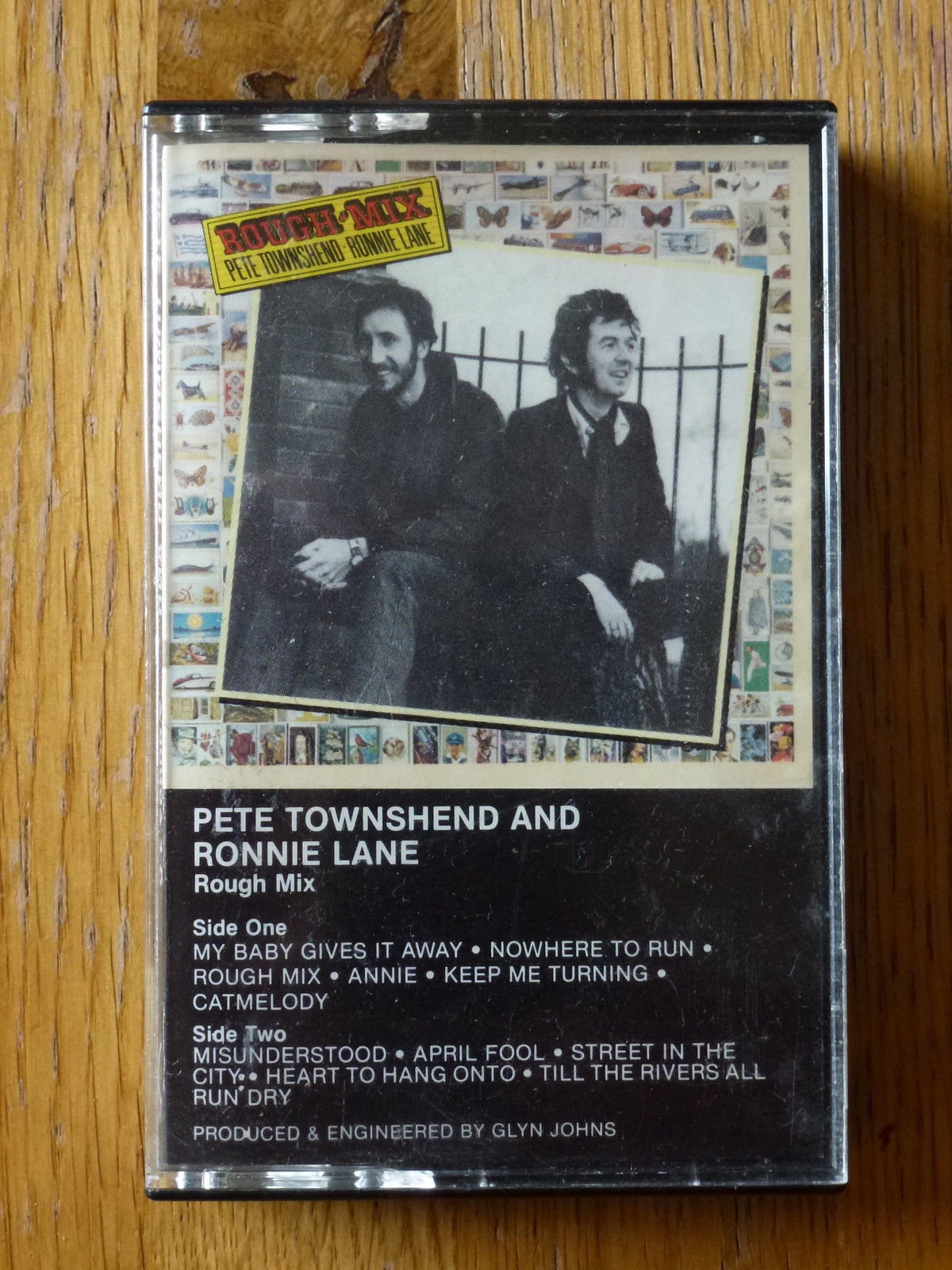 Sealed New- Pete Townshend and Ronnie Lane Rough Mix 1983 Atlantic Records  - VinylBay777