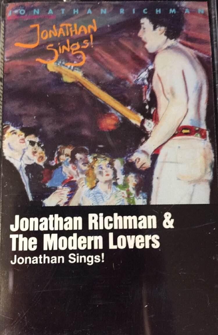 used cassette jonathan richman the modern jonathan sings sire records vinylbay777
