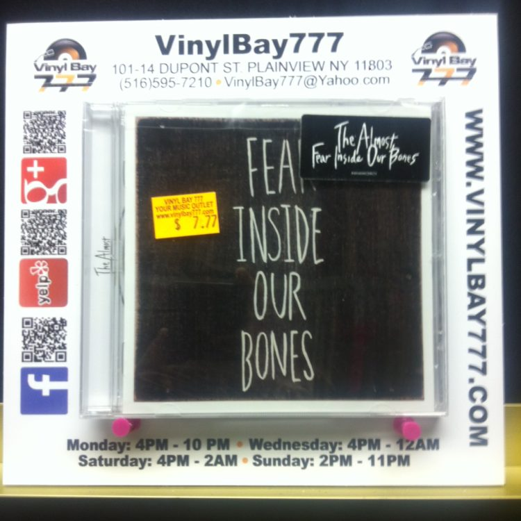 Sealed Cd The Almost Fear Inside Our Bones Red