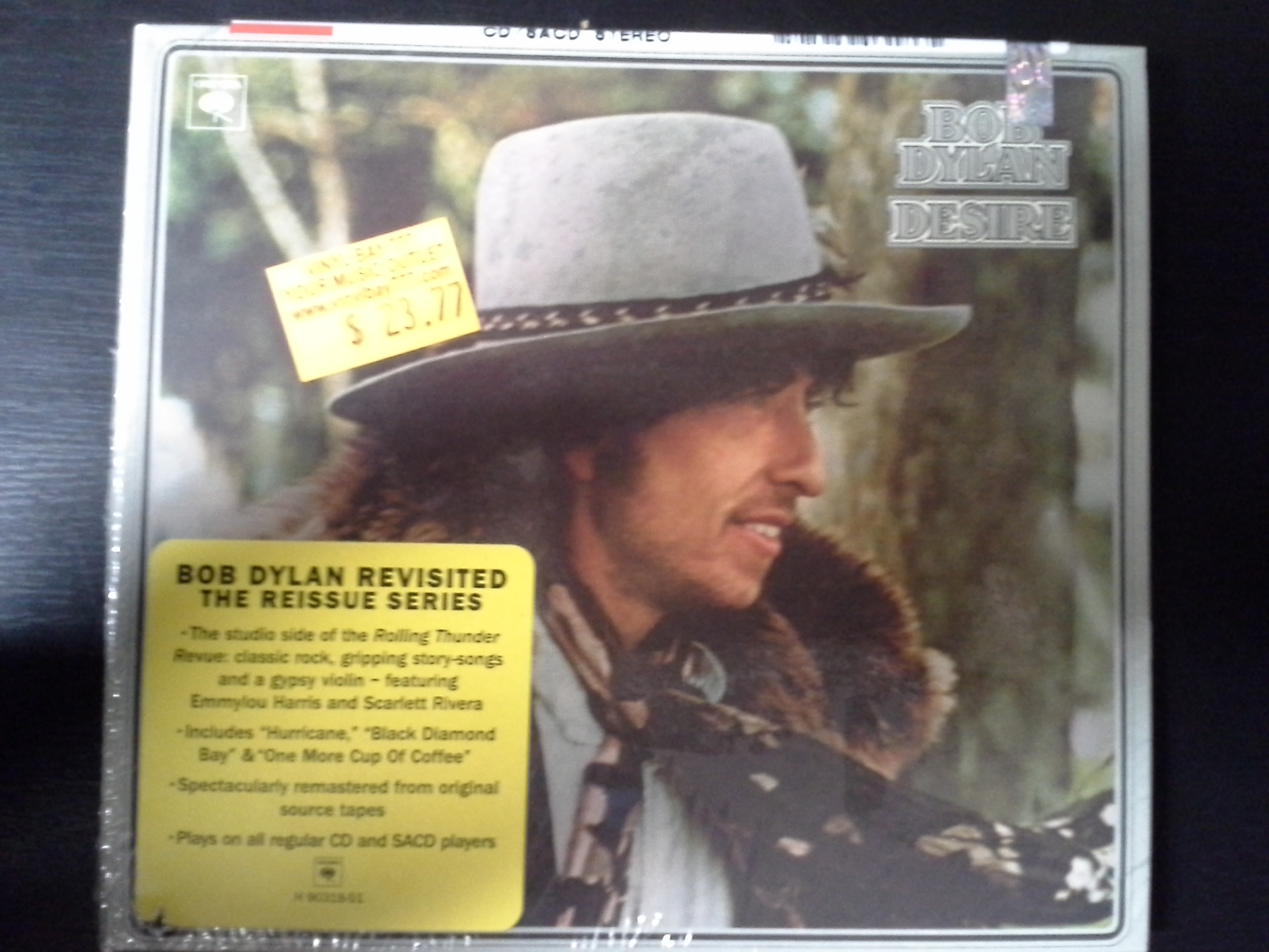 SEALED CD Bob Dylan Desire 2003 Columbia Remastered - VinylBay777