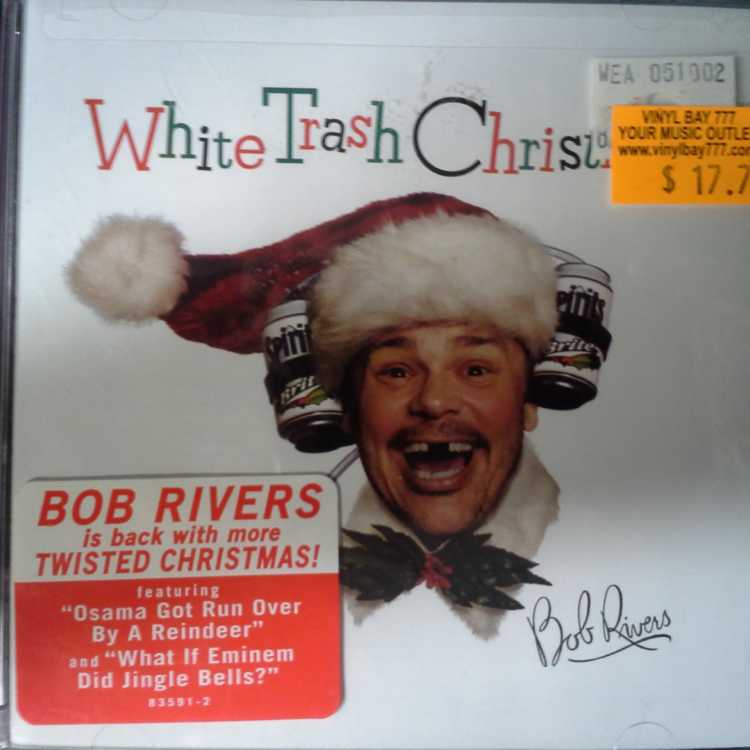 SEALED CD Bob Rivers White Trash Christmas 2002 Atlantic - VinylBay777