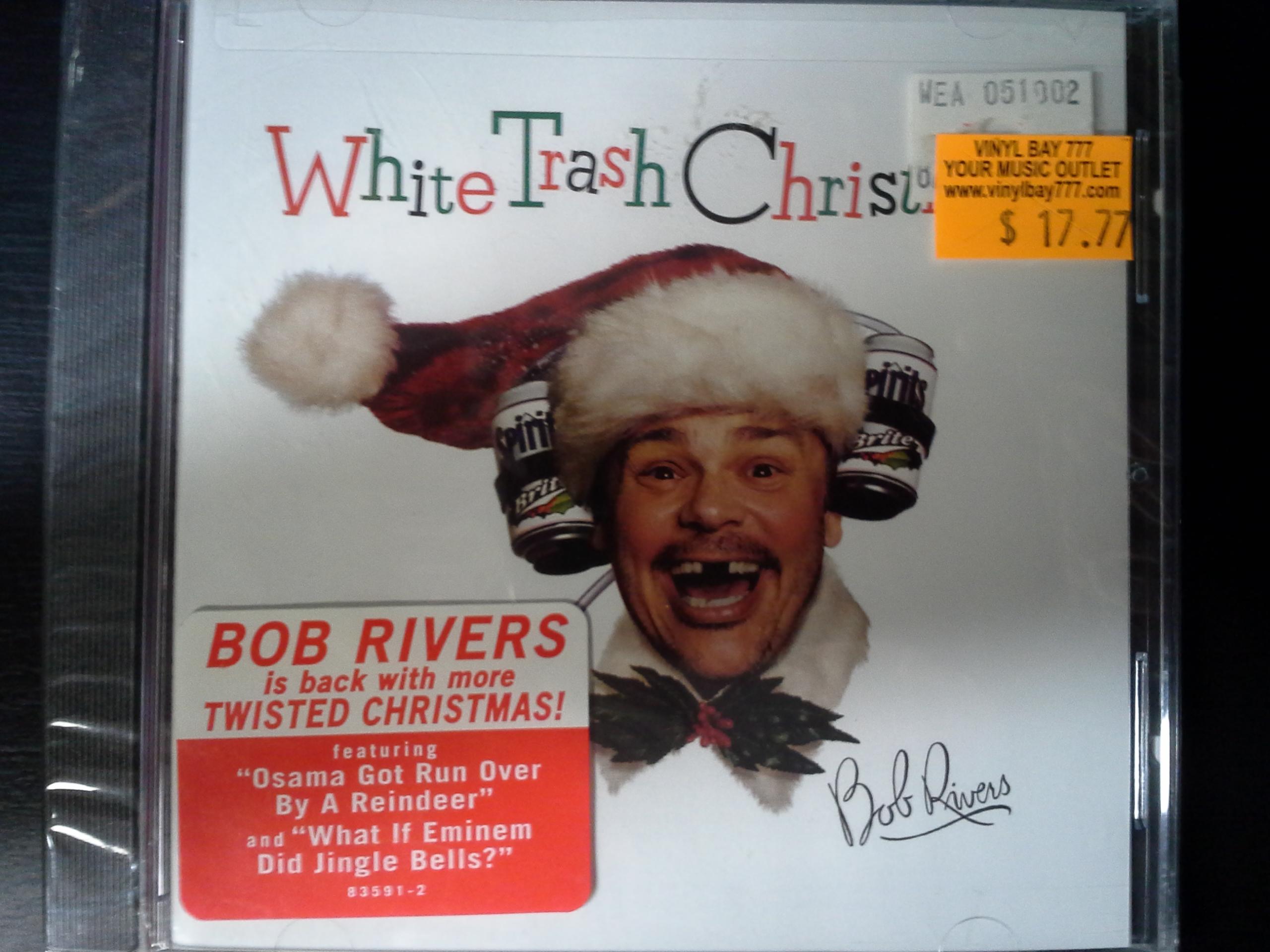 Bob Rivers Twisted Christmas.Sealed Cd Bob Rivers White Trash Christmas 2002 Atlantic Vinylbay777