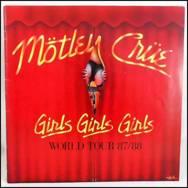 Motley Crue Girls Girls Girls World Tour 87 88 Tour Book