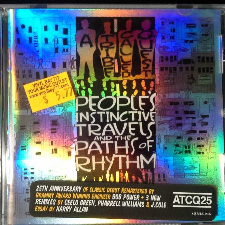 Sealed Cd A Tribe Called Quest People S Instinctive