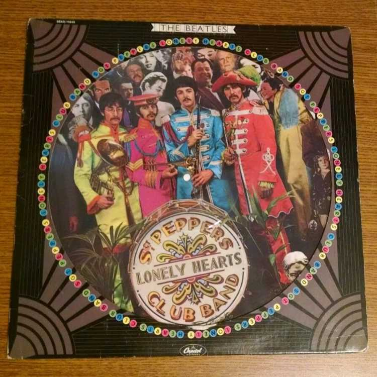 Used 12 Quot Lp M The Beatles Sgt Pepper S Lonely Hearts