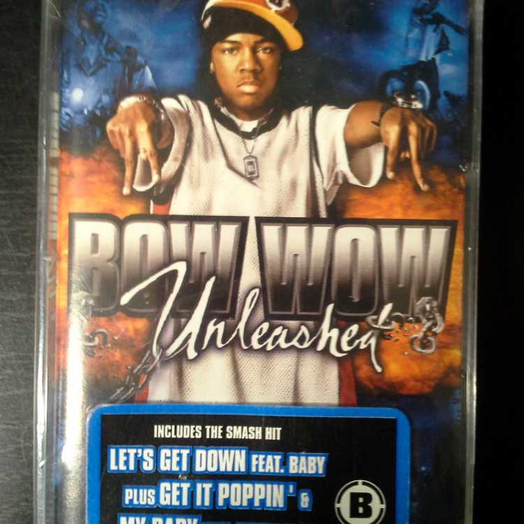 sealed cassette bow wow unleashed 2003 columbia vinylbay777