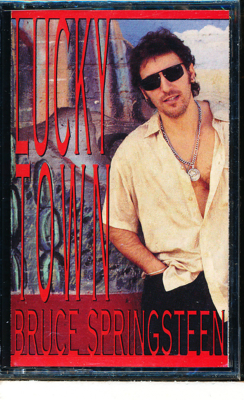 Used Cassette Bruce Springsteen Lucky Town Columbia