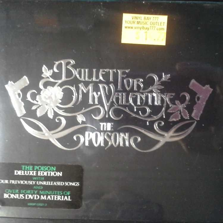 Sealed Cd Dvd Set Bullet For My Valentine The Poison Deluxe