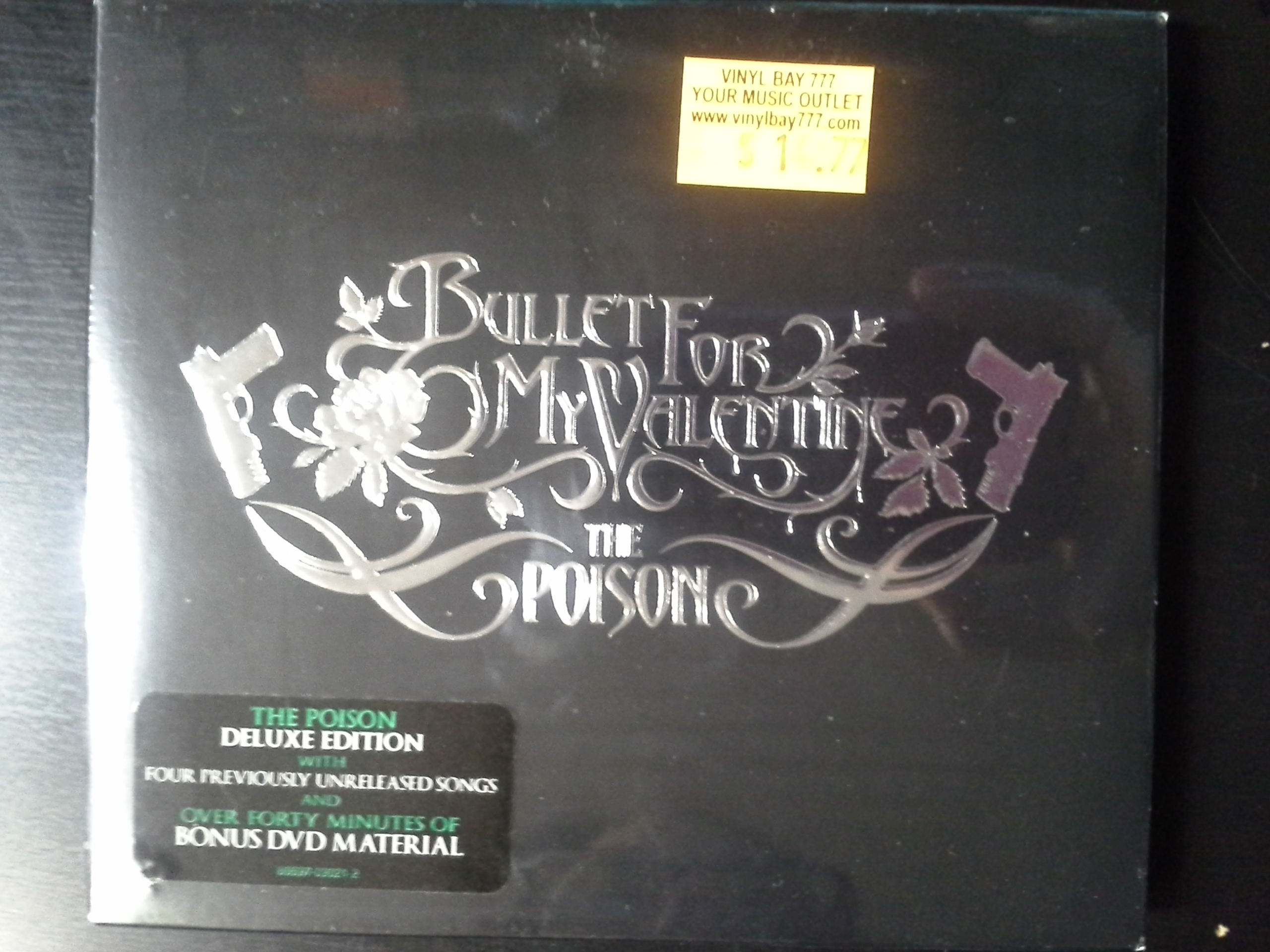 SEALED CD / DVD Set Bullet For My Valentine The Poison Deluxe Edition 2007  20 20 Entertainment   VinylBay777
