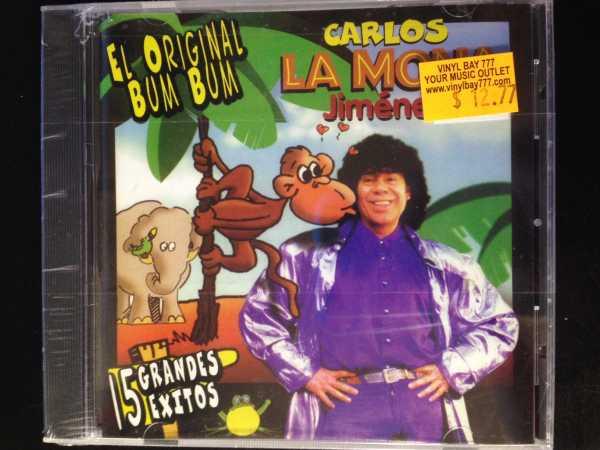 SEALED CD El Original Bum Bum Carlos La Mona Jimenez Warner Music Latina  Inc  2002