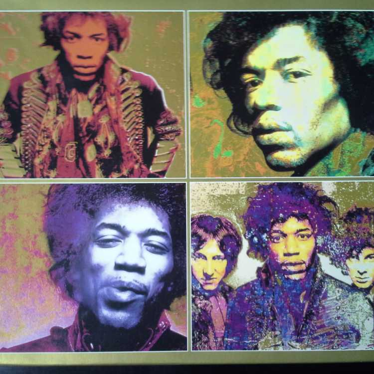 Used 4 Cd Box Set Jimi Hendrix The Experience Collection