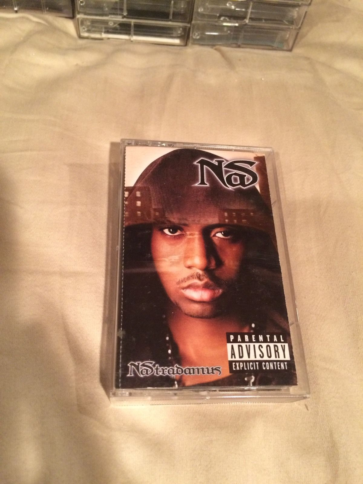 USED Cassette Nas Nastradamus Sony Music Entertainment 1999 - VinylBay777