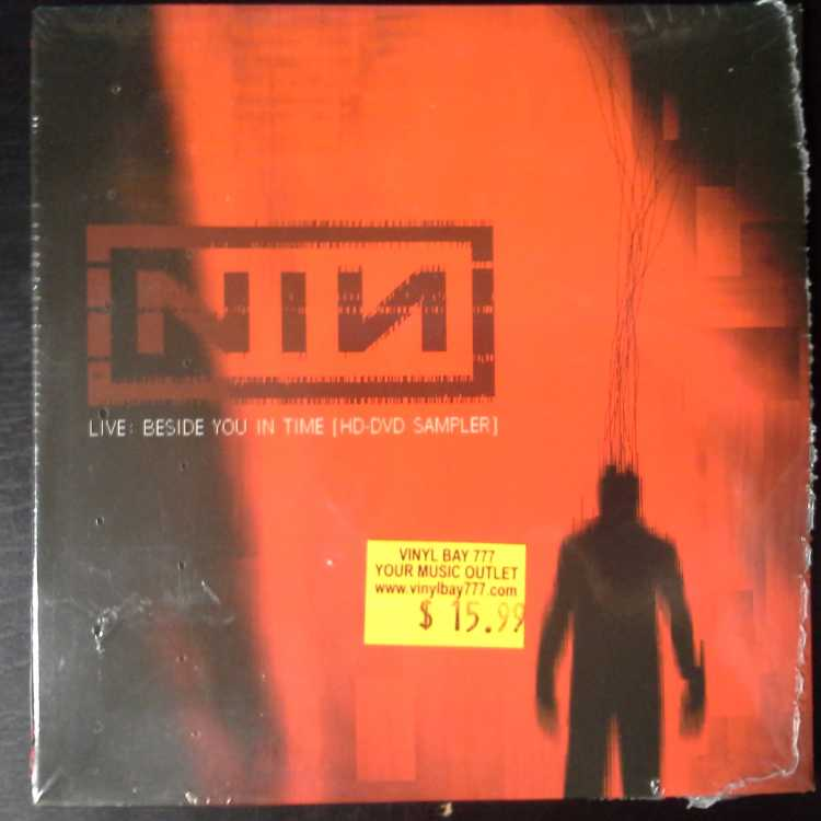 SEALED HD-DVD Nine Inch Nails Live: Beside You In Time HD-DVD ...