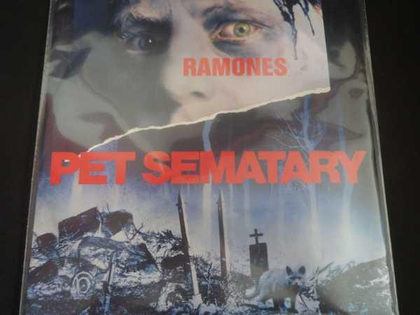 Used 12 Quot Lp Ramones Pet Sematary Sire Records Company 1989