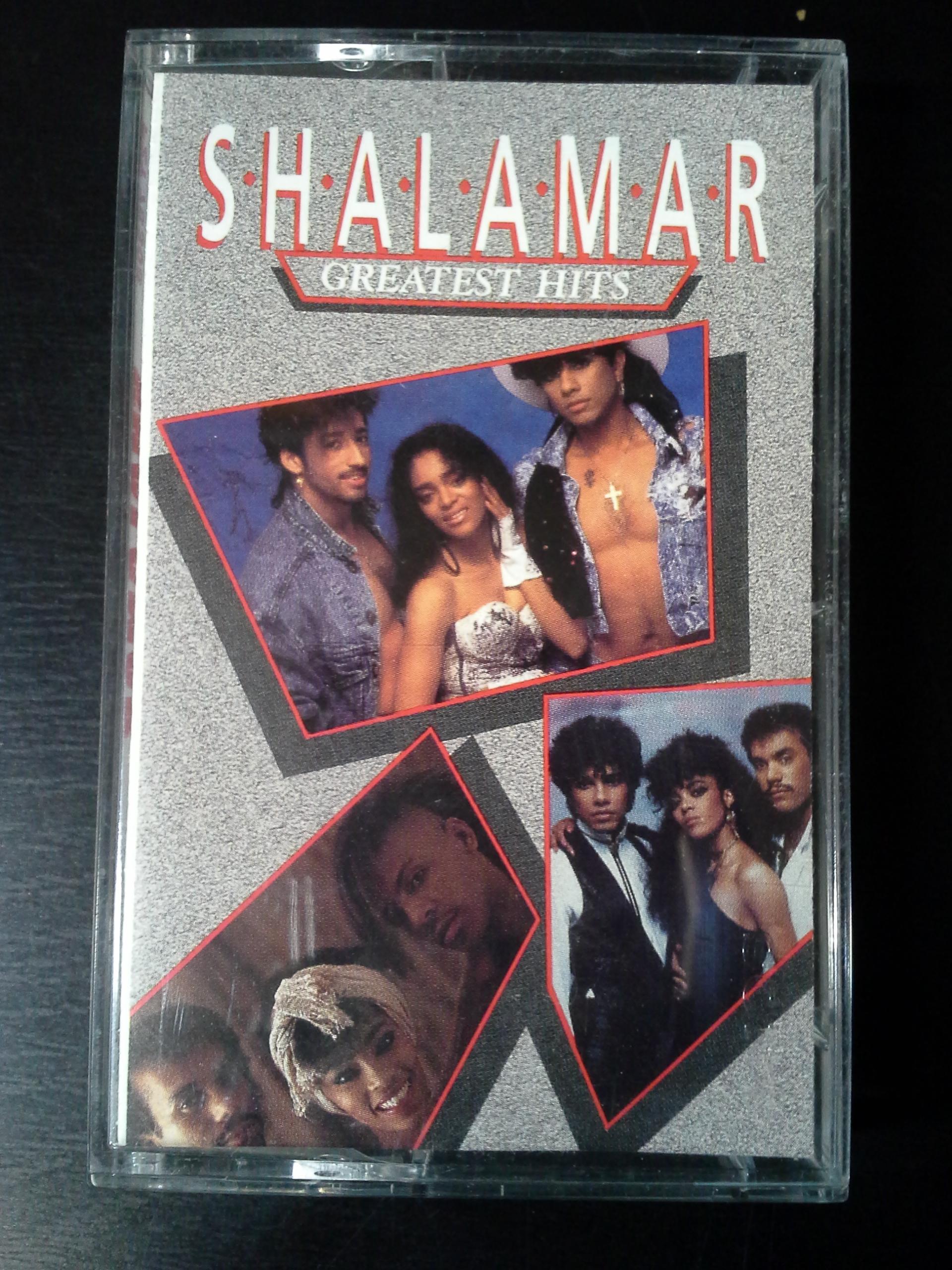 Used Cassette Shalamar Greatest Hits 1989 Epic Vinylbay777