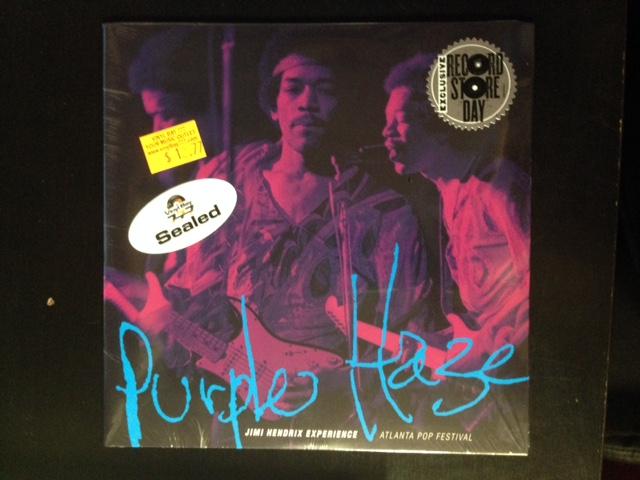 sealed 7 the jimi hendrix experience purple haze sony music entertainment 2015 rsd numbered. Black Bedroom Furniture Sets. Home Design Ideas