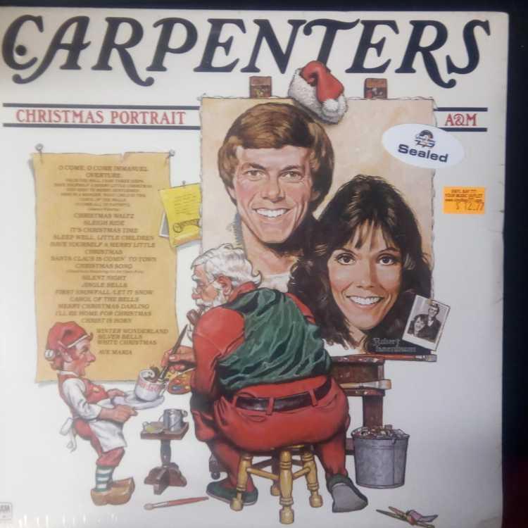 Carpenters Christmas.Sealed 12 Lp Carpenters Christmas Portrait 1978 A M Records