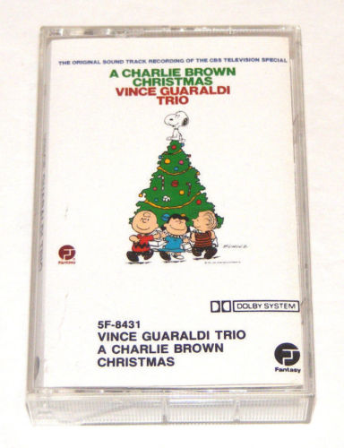 Charlie Brown Christmas Soundtrack.Used Cassette The Original Soundtrack Recording Of The Cbs Television Special Vince Guaraldi Trio A Charlie Brown Christmas Fantasy Inc 1988