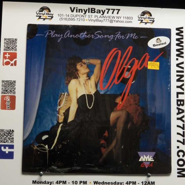 sealed 12 single olga play another song for me 1987 and more