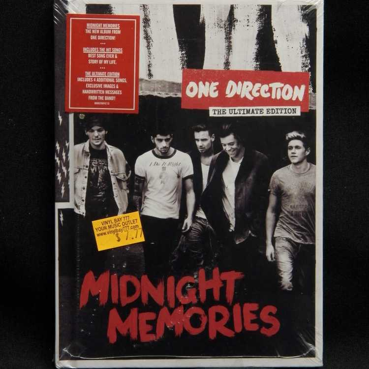 sealed cd book one direction midnight memories ultimate