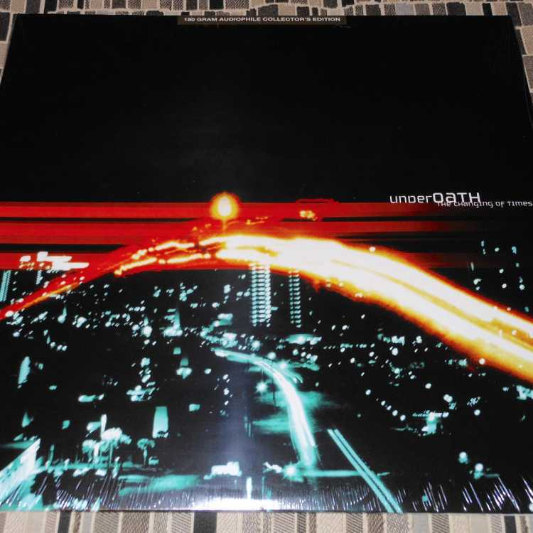 Sealed 12 Quot Lp Underoath The Changing Of Times 180 Gram