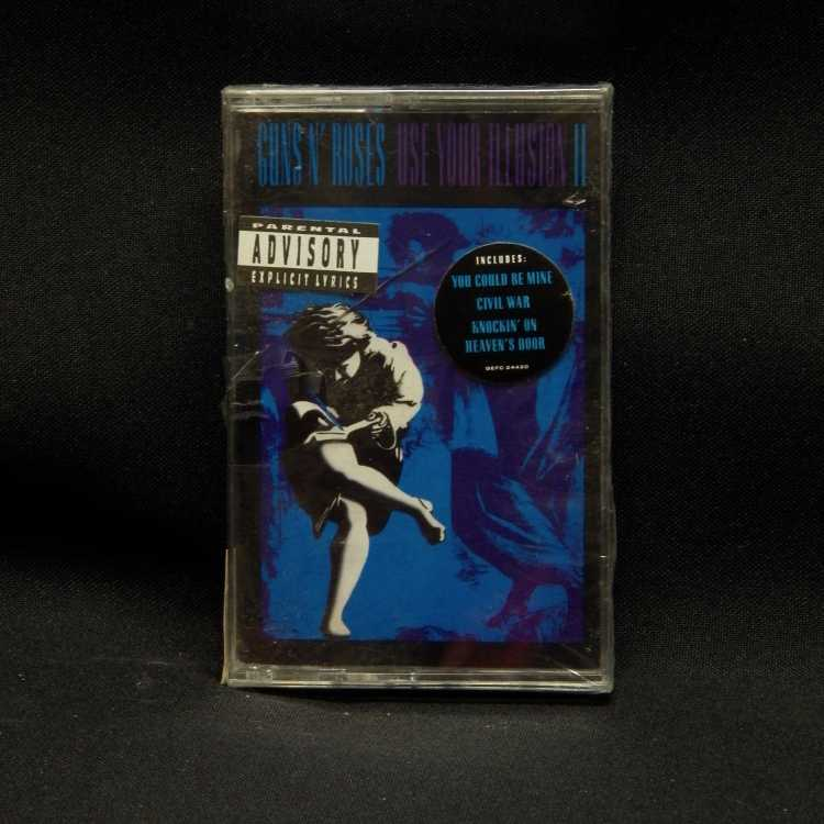 Sealed Cassette Guns N Roses Use Your Illusion Ii 1991