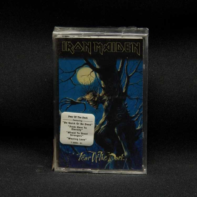 Sealed Cassette Iron Maiden Fear Of The Dark 1992 Epic