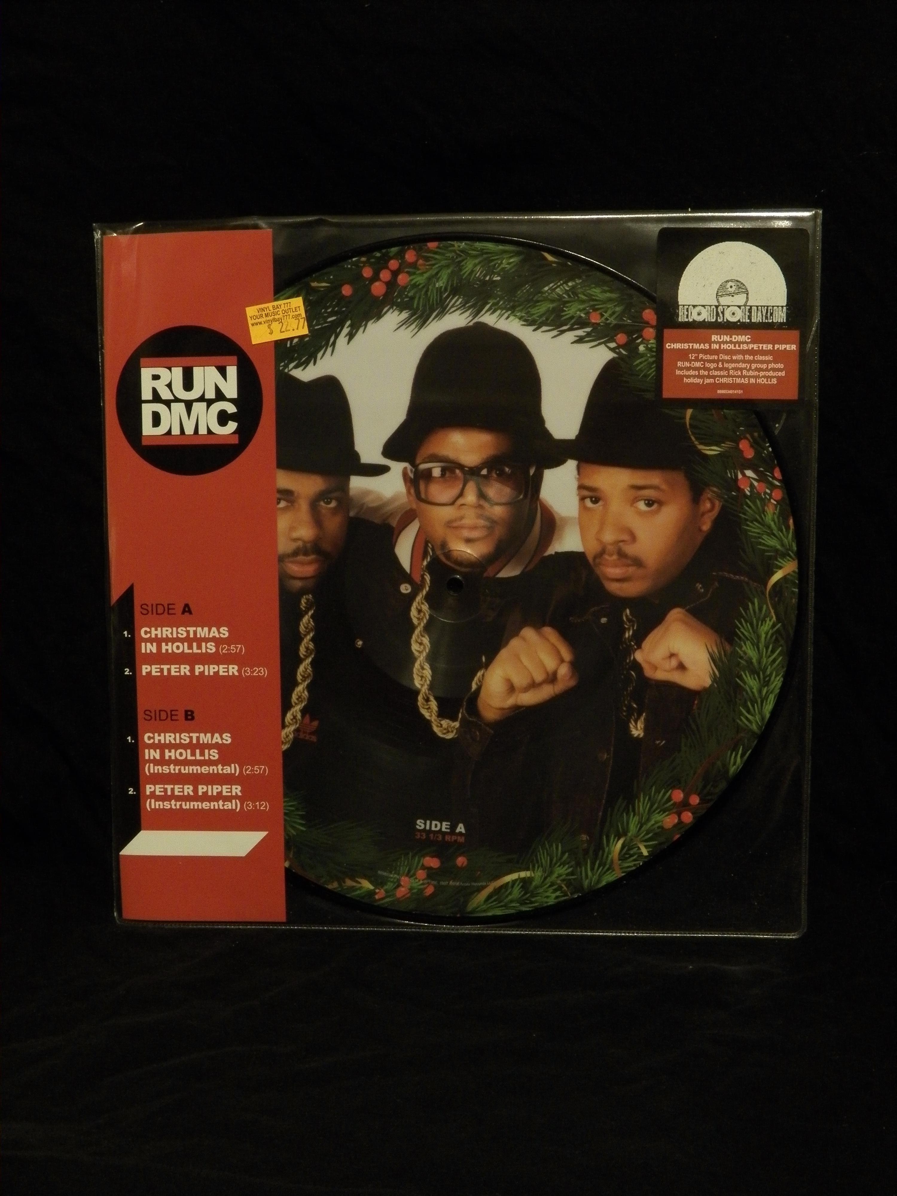 Run Dmc Christmas.Sealed 12 Picture Disc Run Dmc Christmas In Hollis Peter Piper 2016 Arista Records Rsd Vinylbay777