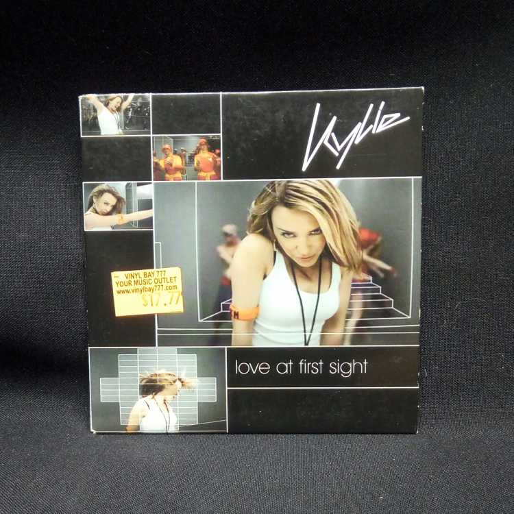 Used Cd Single Kylie Minogue Love At First Sight 2002