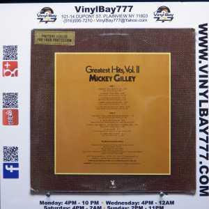 Mickey Gilley Greatest Hits, Vol. II LP 2