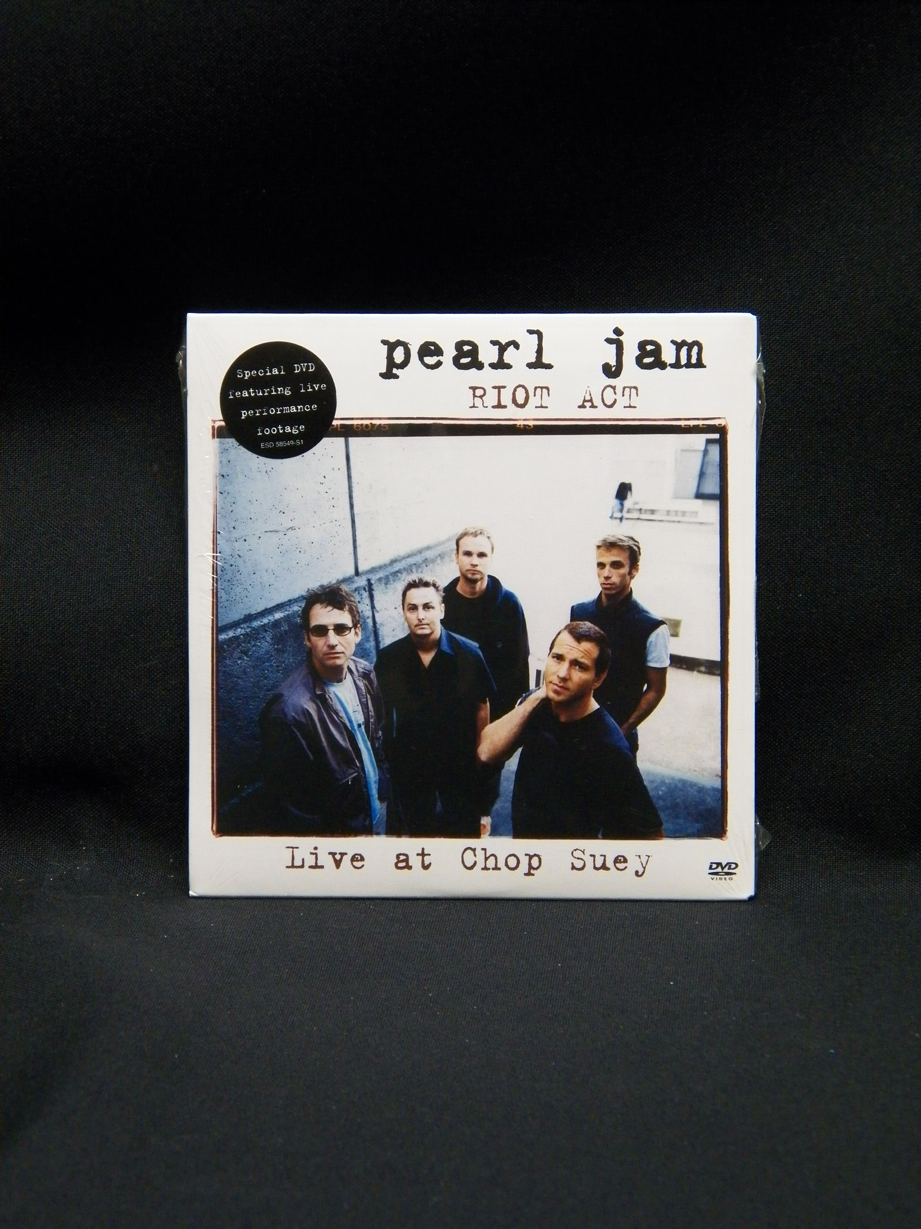 SEALED DVD Pearl Jam Riot Act: Live At Chop Suey 2003 Epic Promo -  VinylBay777