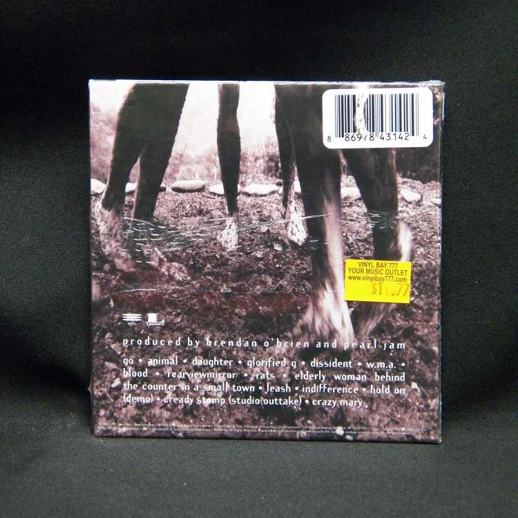 SEALED CD Pearl Jam Vs. (Expanded Edition) 2011 Epic ...