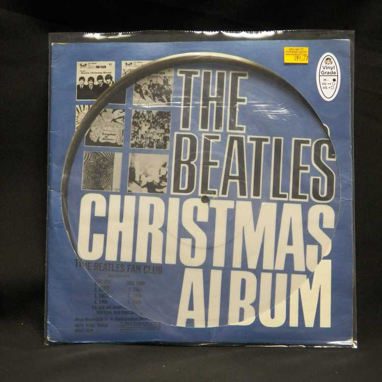 The Beatles Christmas Album Used M 12in Picture Disc 1
