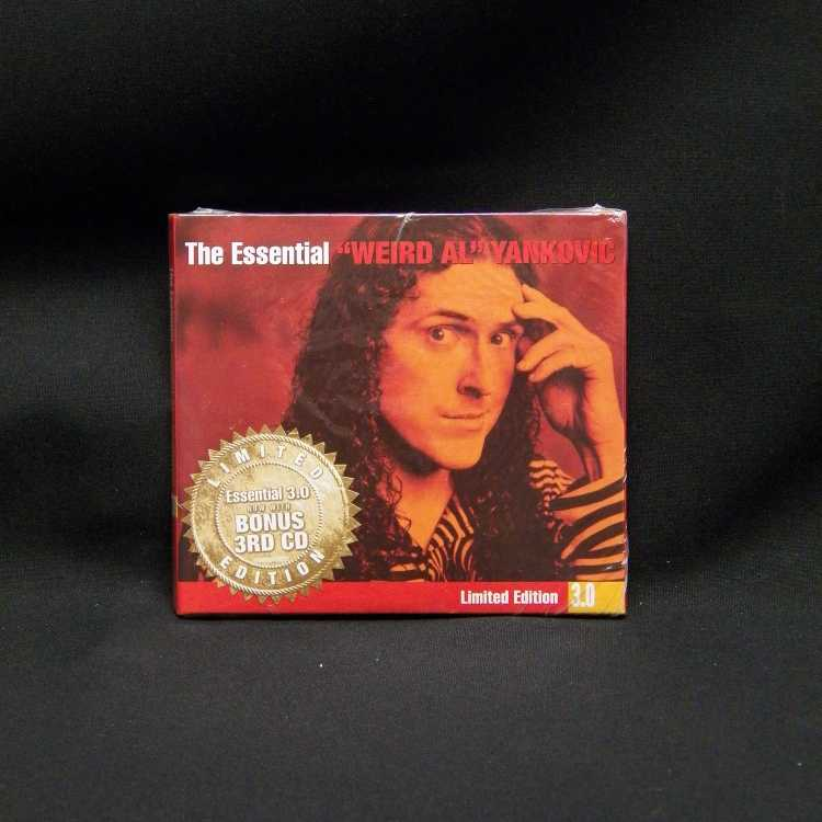 Sealed 3 Cd Set Quot Weird Al Quot Yankovic The Essential Quot Weird