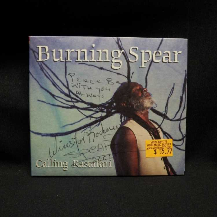 Burning Spear Calling Rastafari Used Cd Autographed 1: Burning Spear Sheet Music At Alzheimers-prions.com