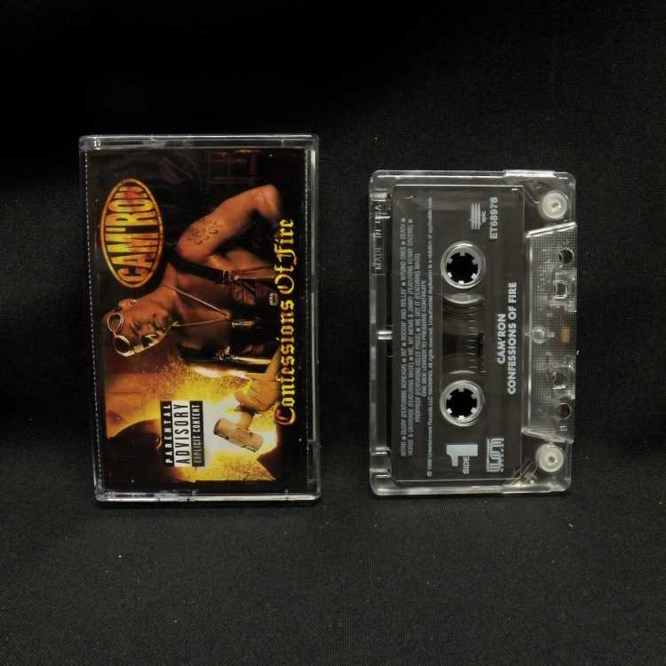 Used Cassette Cam Ron Confessions Of Fire 1998