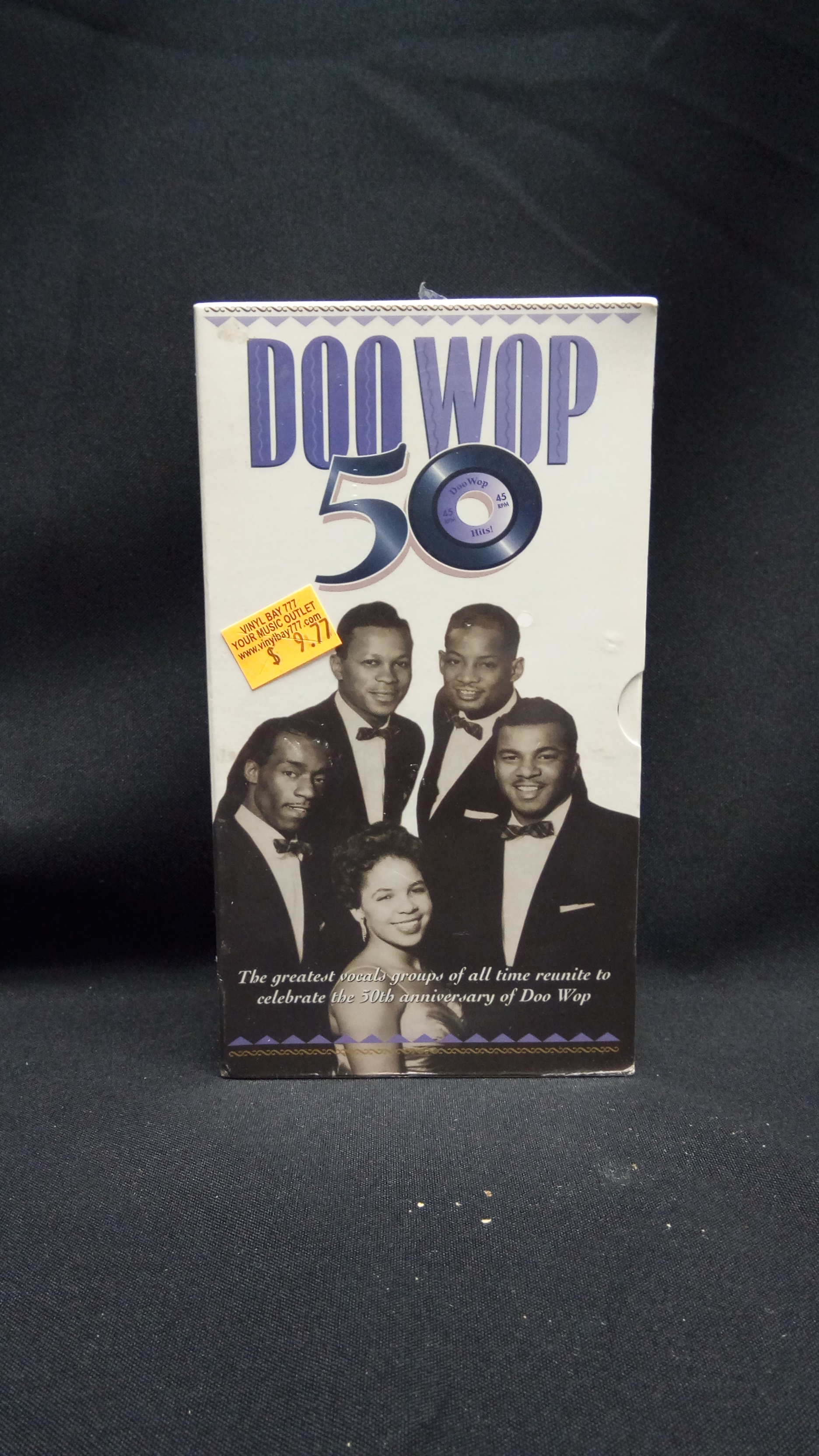 sealed 2 vhs set various artists doo wop 50 1999 rhino home video vinylbay777. Black Bedroom Furniture Sets. Home Design Ideas