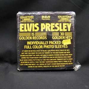 Elvis Presley 15 Golden Records Box 7in Box Set 1