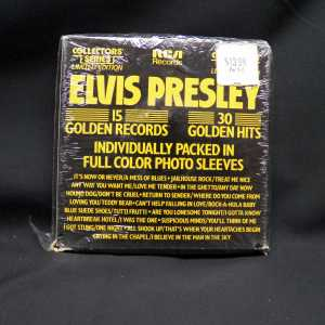 Elvis Presley 15 Golden Records Box 7in Box Set 2