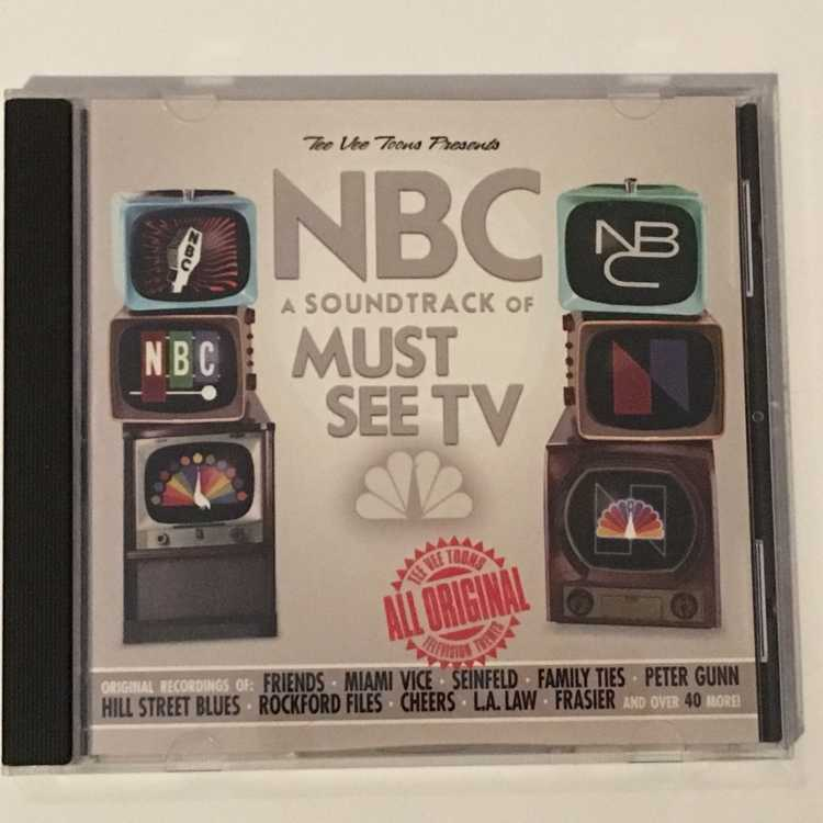 Used Cd Nbc A Soundtrack Of Must See Tv Tvt Records 2003