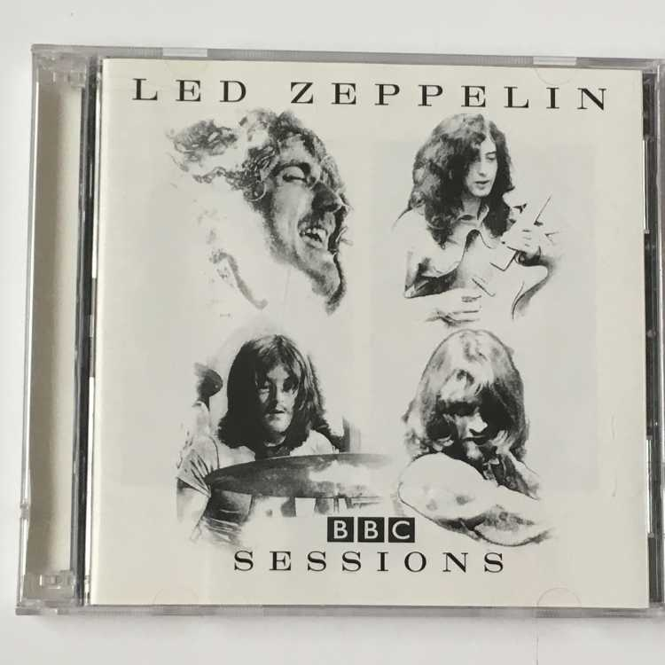 Used Cd Led Zeppelin Bbc Sessions Atlantic Recording