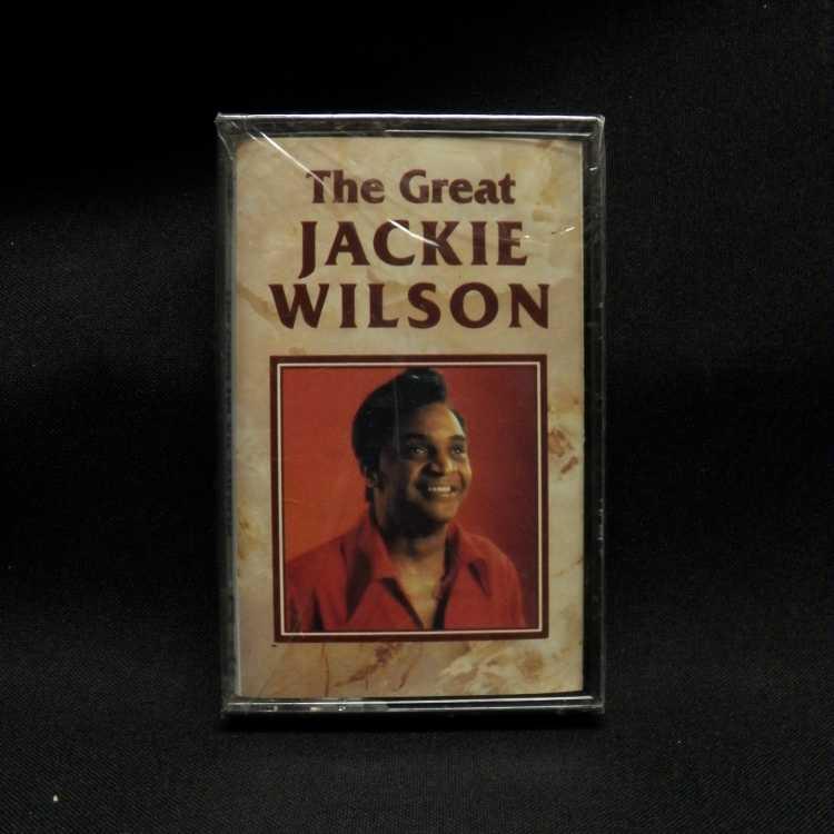SEALED Cassette Jackie Wilson The Great Jackie Wilson: Cassette One Teledisc USA - VinylBay777
