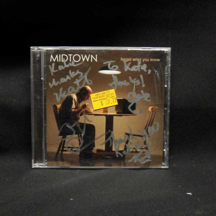 Used Cd Midtown Forget What You Know 2004 Columbia