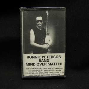 Ronnie Peterson Band Mind Over Matter Cassette 1