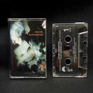 The Cure Disintegration Used Cassette 1